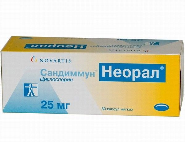 лечение атопического дерматита-циклоспорин