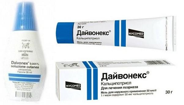 лечение псориаза дайвонекс