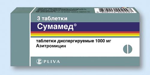 лечение хламидиоза сумамедом