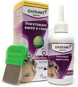 лечение педикулеза шампунь